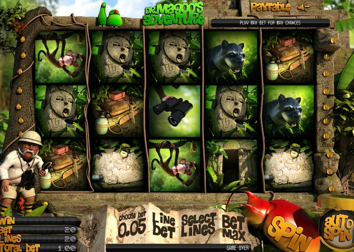 Dr. Magoo's Adventure Takes Slot Players on an Adventure