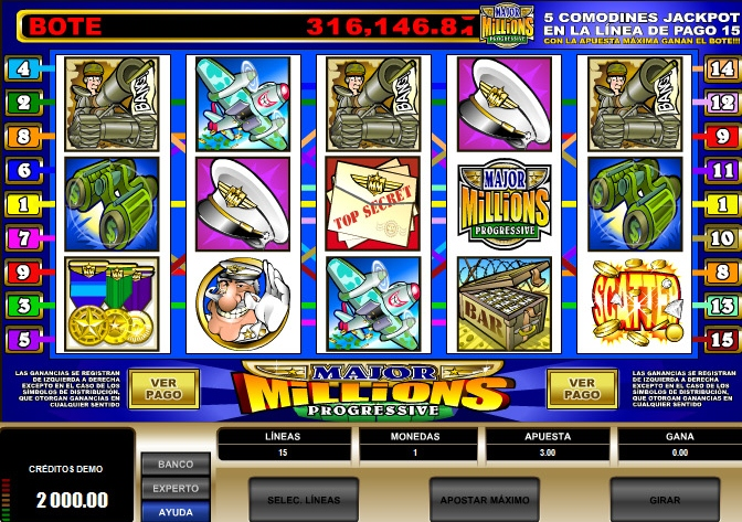 Win Big Bucks with the Slot Major Millions