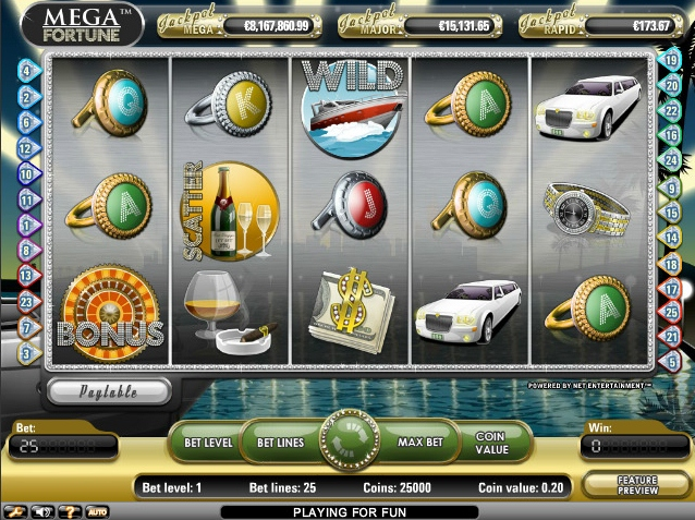 Mega Fortune Promises   a   World of Winnings